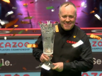 Snooker - Players Championship: kosmiczny snooker Higginsa
