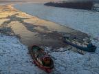 Mazowieckie: lodołamacze znowu w akcji