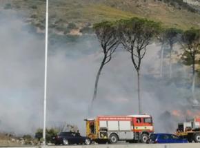 Kapsztad: pożar na zboczu Góry Stołowej