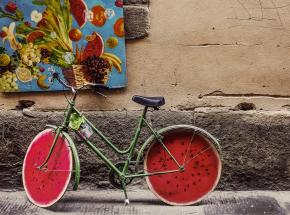 Koło rowerowe, które oczyszcza powietrze