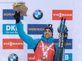 Biathlon - PŚ: Simon Desthieux wygrywa ostatni bieg sezonu