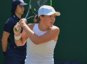 Tenis - WTA Miami: Konjuh za mocna dla Świątek