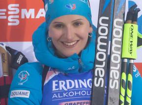 Biathlon - PŚ: Julia Simon najlepsza w biegu masowym