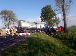 Mazowieckie: śmiertelny wypadek w Dobrosielicach