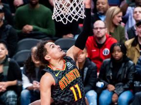 NBA: zwycięski rzut Trae'a Younga, Memphis lepsze od Utah Jazz