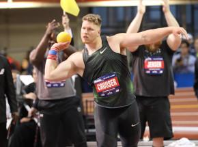 Lekkoatletyka: Crouser coraz bliżej rekordu świata w pchnięciu kulą!