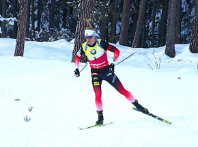 Biathlon - PŚ: norweskie podium w Oberhofie