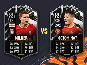 FIFA 21: nowe karty Showdown przed meczem na szczycie Premier League!