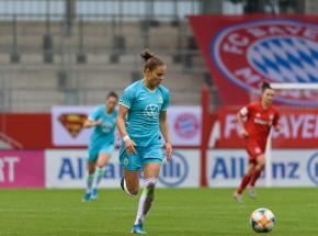 Piłka nożna kobiet: Bayern remisuje z Wolfsburgiem, Ewa Pajor z golem