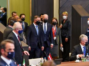 Joe Biden spotkał się z prezydentem Andrzejem Dudą