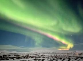 Koronalny wyrzut masy Słońca i zorza polarna