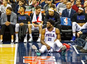 NBA: Jazz powiększyli przewagę, Joel Embiid kontujzowany