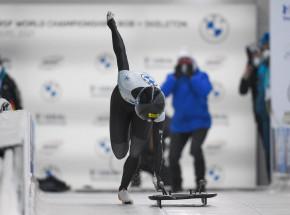 Skeleton - MŚ: Tina Hermann po raz trzeci z rzędu