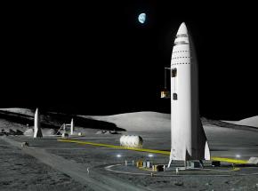 NASA wybrało SpaceX do budowy załogowego lądownika księżycowego [AKTUALIZACJA]