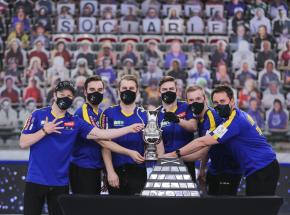 Calgary 2021: Szwedzi trzeci raz z rzędu mistrzami świata w curlingu