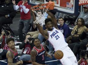 NBA: wygrana Nets w meczu z  Nuggets, 45 punktów Embiida