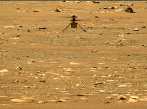 Mars: eksperyment wytworzył tlen, helikopter wykonał drugi lot