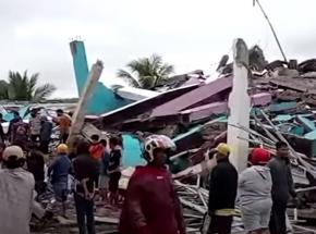 Indonezja: zniszczenia i ofiary śmiertelne w wyniku trzęsienia ziemi na wyspie Jawa