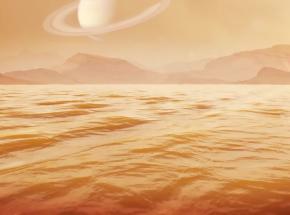 Pierwszy pomiar głębokości Kraken Mare na Tytanie