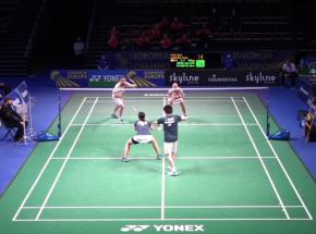 Badminton - EMTC: blisko sensacji