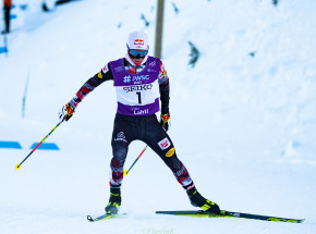 Kombinacja norweska: złoty medal Johannesa Lampartera