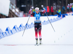 Biathlon - MŚ: Eckhoff najlepsza w sprincie, Polki bez błysku