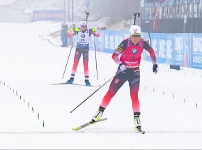 Biathlon - MŚ: indywidualny dublet Eckhoff, awans Hojnisz