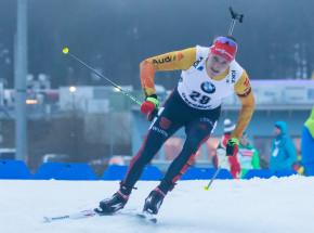 Biathlon - PŚ: zdecydowane zwycięstwo niemieckiej sztafety, Polacy zdublowani