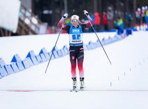 Biathlon - PŚ: Tiril Eckhoff dominatorką sprintu, debiut Stiny Nilsson