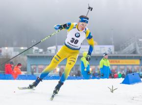 Biathlon: MŚ - Ponsiluoma najlepszy w sprincie mężczyzn