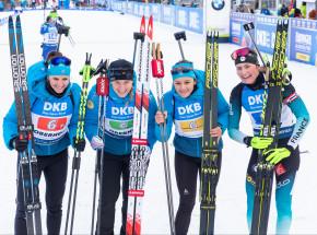 Biathlon - MŚ: Francja mistrzami świata w sztafecie pojedynczej