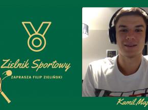 Tenis: wywiad z Kamilem Majchrzakiem [Zielnik Sportowy]