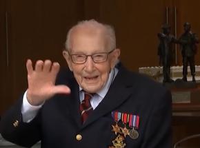 Zmarł kapitan Tom Moore, 100-latek, który zebrał prawie 33 mln funtów na walkę z pandemią COVID-19