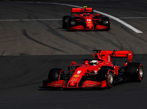 Formuła 1: testy Ferrari na torze Fiorano