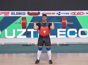 Podnoszenie ciężarów - MŚJ: ósme miejsce Pasikowskiego na zakończenie mistrzostw
