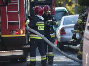 Starogard Gdański: pożar budynku mieszkalnego. Nie żyje jedna osoba