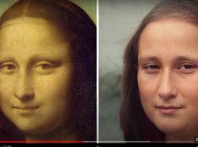 Artysta odtwarza wygląd postaci historycznych