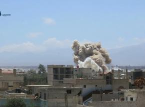 Izraelskie samoloty bojowe zbombardowały Syrię