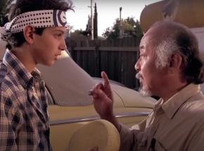 Kevin Derek stworzył dokument o odtwórcy roli Pana Miyagi
