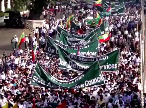 Mjanma: zwolennicy zamachu stanu zaatakowali protestujących
