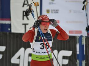 Biathlon - ME: Łotyszka ze złotem w sprincie, Gwizdoń najlepsza z Polek