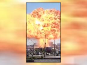 Rosja: wybuch stacji benzynowej w Nowosybirsku