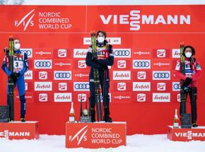 Kombinacja norweska - PŚ: Jarl Magnus Riiber triumfatorem NC Triple