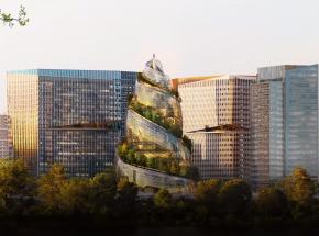 Spektakularny projekt wieży biurowej Amazonu