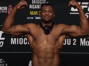 UFC 260: Francis Ngannou nowym mistrzem wagi ciężkiej!
