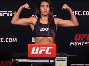 UFC Vegas 26: Marina Rodriguez wygrywa w walce wieczoru