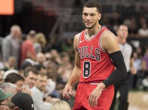NBA: wielkie zdobycze punktowe Tatuma i Lavine'a
