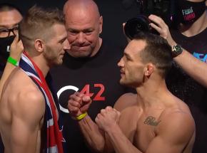 UFC 257: Dan Hooker pokonany w pierwszej rundzie!