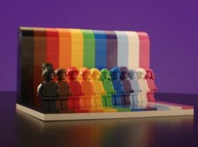 """""""Każdy jest wspaniały"""": pierwszy zestaw LEGO nawiązujący do społeczności LGBTQ+"""