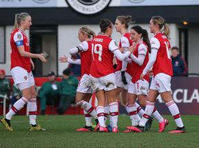 Piłka nożna kobiet: derby północnego Londynu dla Arsenalu